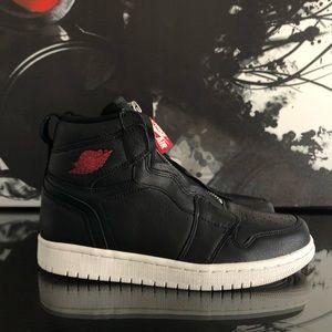 the best attitude 25cc5 d08a6 Nike Shoes - WOMENS NIKE AIR JORDAN 1 HIGH ZIP PREMIUM   NEW